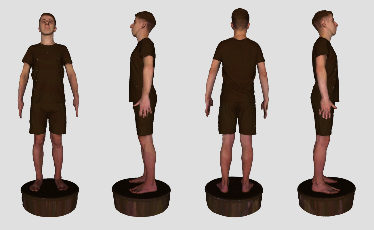 the visual for the announcement of 3DLOOK's 3D Body Scanning Lab launch