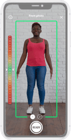 Contactless and accurate mobile body scanning