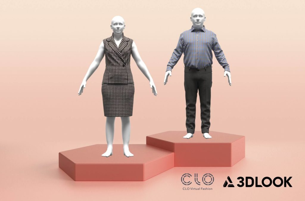 3D avatars by 3DLOOK